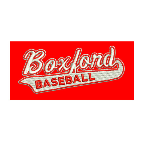 Boxford Baseball, Boxford Baseball logo, All Around Active, Give Back Program Clients