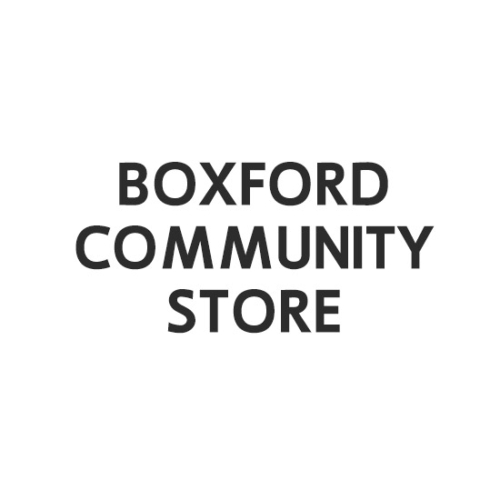 Boxford Community Store, Boxford Community Store logo, All Around Active, Give Back Program Clients