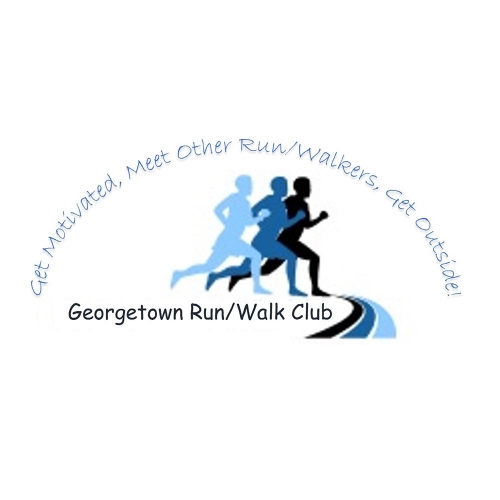 Georgetown Run/Walk Club, Georgetown Run/Walk Club logo, All Around Active, Give Back Program Clients