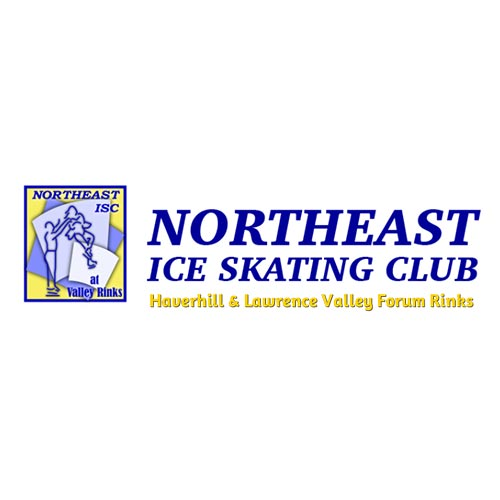 Northeast Ice Skating Club, Northeast Ice Skating Club logo, All Around Active, Give Back Program Clients
