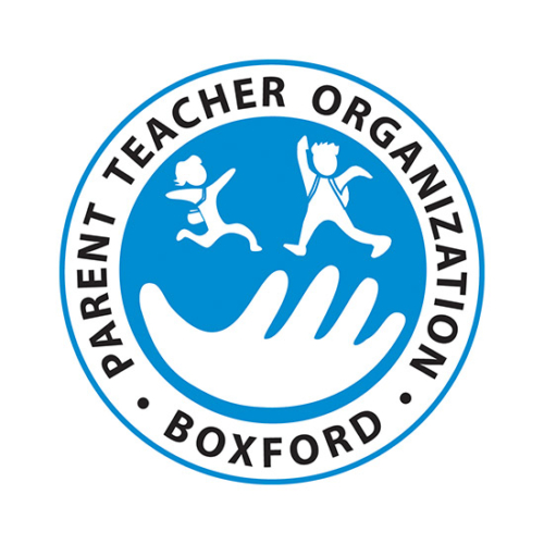 Boxford PTO, Boxford PTO logo, All Around Active, Active Give Back