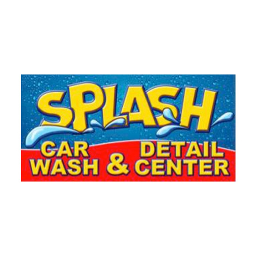 Splash Car Wash, Splash Car Wash logo, All Around Active, Give Back Program Clients