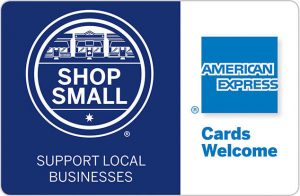American Express, Shop Small, activewear, Support local businesses, All Around Active